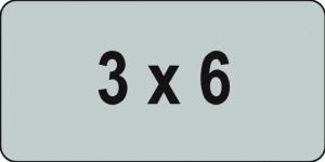 Icon 3x6m
