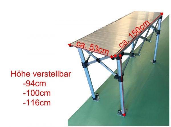 Falttisch für Pavillon