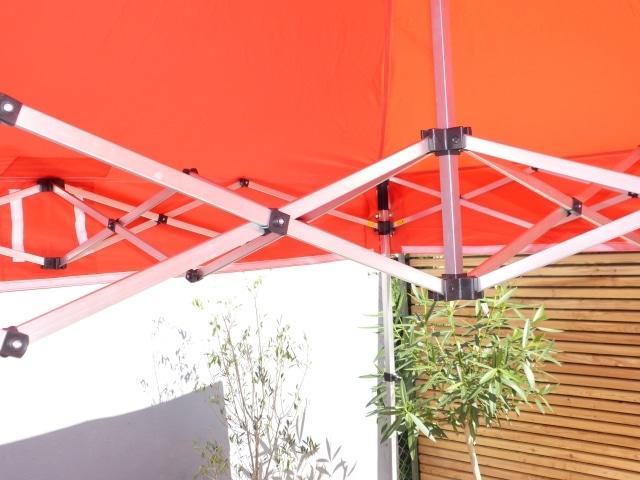 klapp pavillon 3x3m leicht und dennoch stabil ideal f r die freizeit. Black Bedroom Furniture Sets. Home Design Ideas
