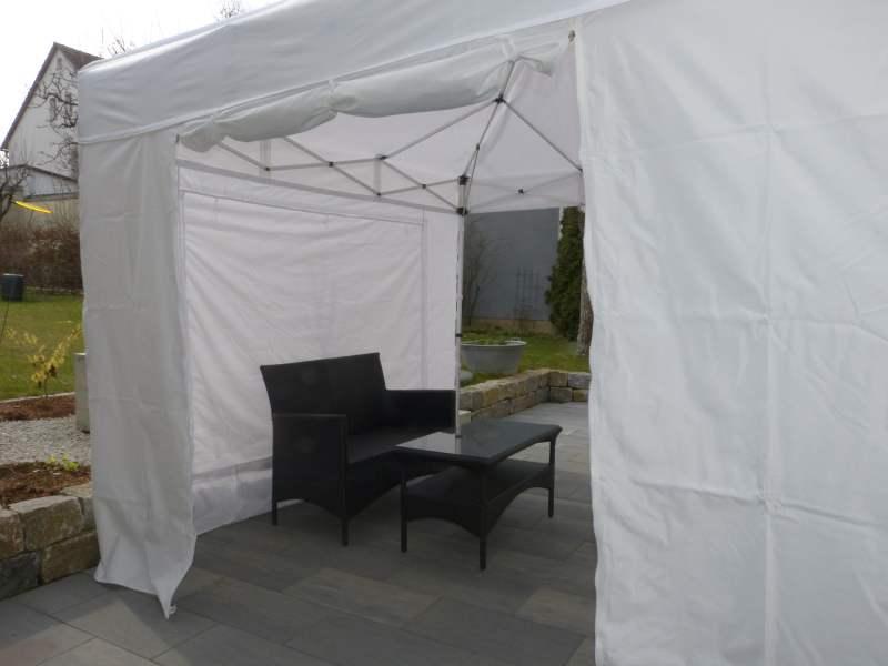 faltpavillon 3x3m leicht und wasserdicht mit planen wie die profis. Black Bedroom Furniture Sets. Home Design Ideas