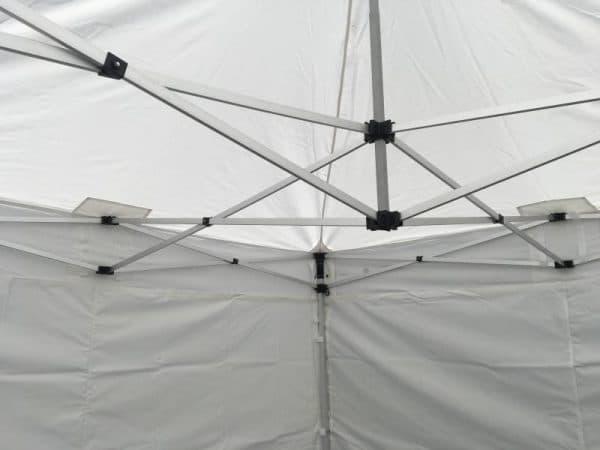 3x3m Marktstand Zelt - wasserdicht - mit verstärkten Auflagen für das Gestell.