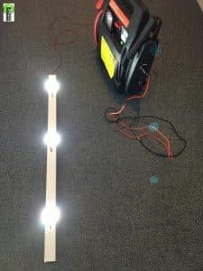 12V LED Licht für Faltzelt