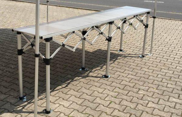 Falttisch für Marktzelt