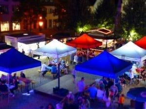 Compact Canopy 3x3m Faltpavillons für Events und Märkte