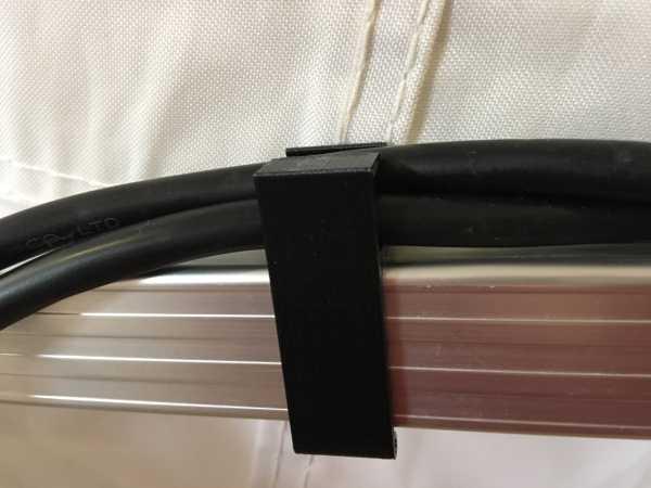 Kabelklipp für Faltpavillon mit 2 Kabeln