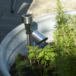 LED Solar Strahler für Garten