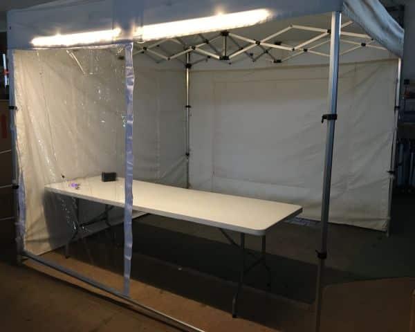 12V LED-Leiste Marktzelt wasserdicht