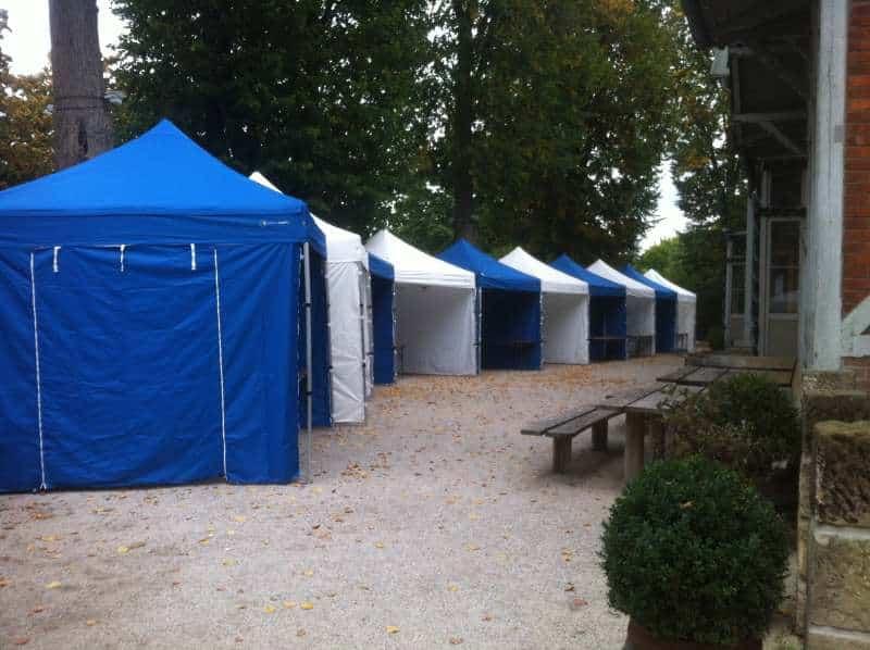 Faltpavillon für Event