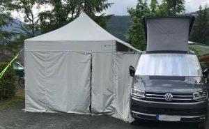 Vorzelt Faltpavillon für den Camper